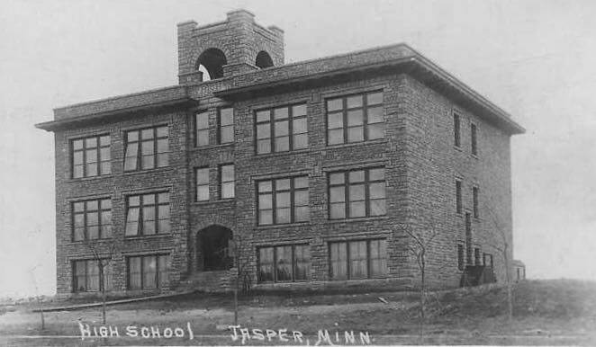 Jasper High school building