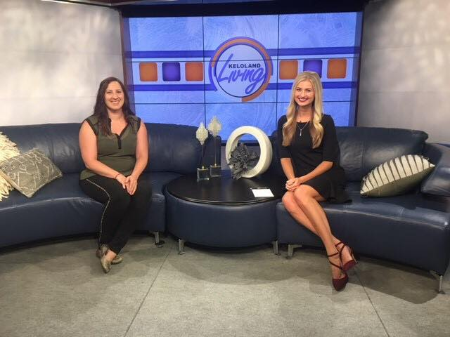 President Elicia Kortus, appears on Keloland Living, June 2018
